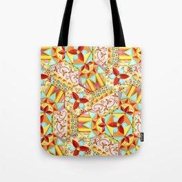 Gypsy Caravan Candy Blossom Tote Bag