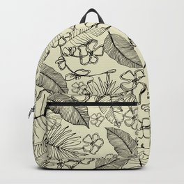 Tropical doodle Backpack