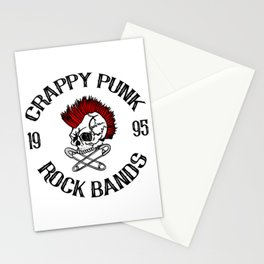 Punk festival Stationery Cards