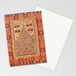 Antique Erzurum Turkish Kilim Rug Print Stationery Cards