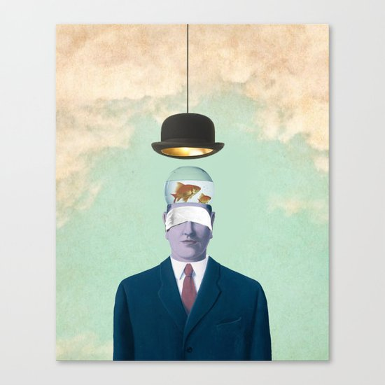Under the Bowler Canvas Print