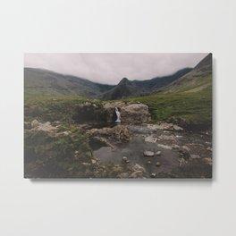 Isle of Skye - Color Metal Print