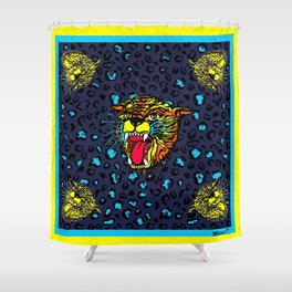 FAUVE (YELLOW) Shower Curtain