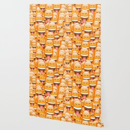 CHEEKY FACE EMOJI Wallpaper
