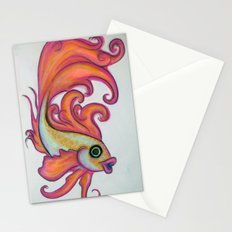 just a fish Stationery Cards