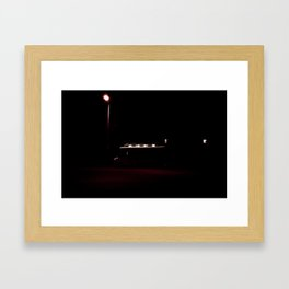 Dining Out Framed Art Print