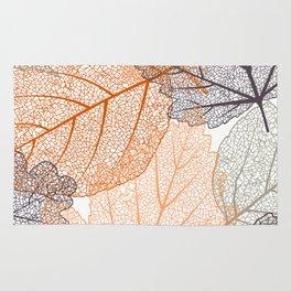 Autumn's Falling Leaves Rug