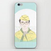 moonrise kingdom iPhone & iPod Skins featuring MOONRISE KINGDOM by Itxaso Beistegui Illustrations