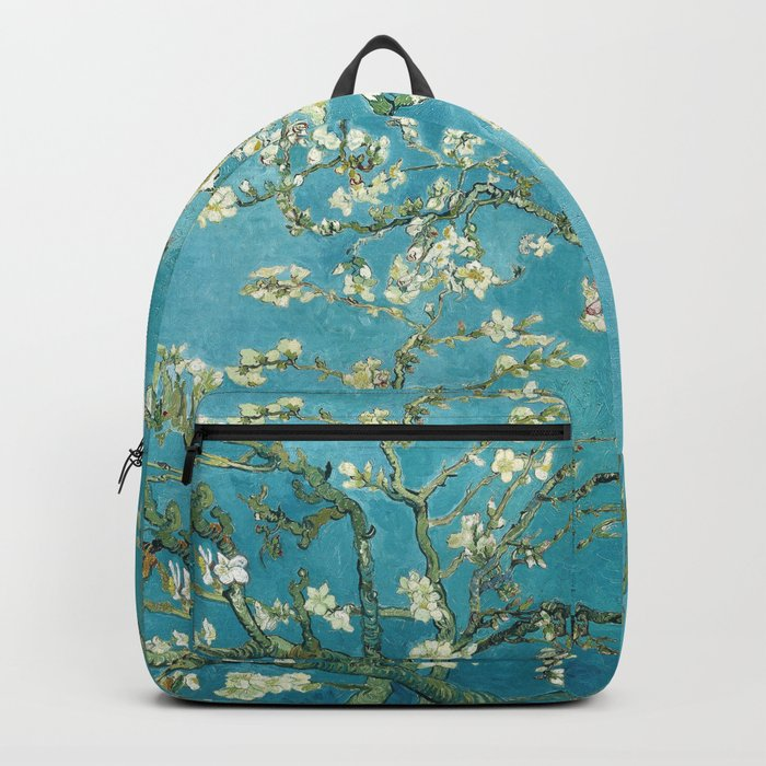 Almond Blossoms by Vincent van Gogh Rucksack