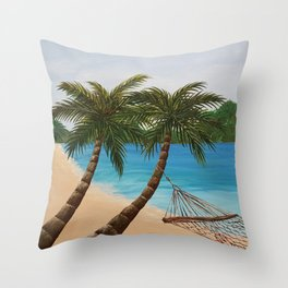 Wanna go? Throw Pillow
