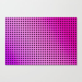 Small and little evening pattern Canvas Print