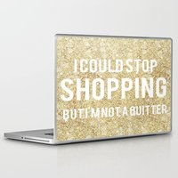 shopping Laptop & iPad Skins featuring Shopping by LuxuryLivingNYC