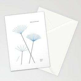 Blätter des Himmels Stationery Cards