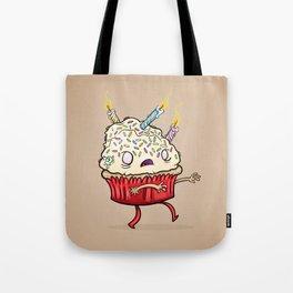 Cupcake zombie 8 Tote Bag