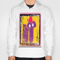 penis Hoodies featuring TOO CUTE FUNNY PENIS SHAPED CHEESE PUFF by ZAPPERART