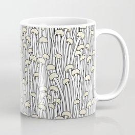 Enokitake Mushrooms (pattern) Coffee Mug