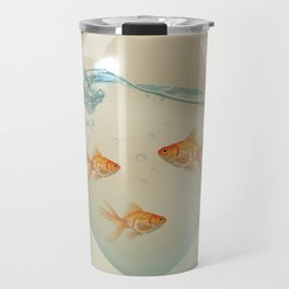 balloon fish 02 Travel Mug