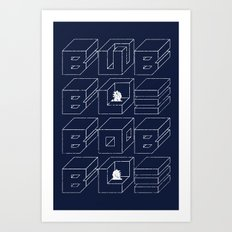 Bubble Bobble Art Print