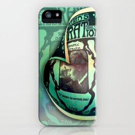 Women's Rat Mag with Emma Goldman iPhone Case