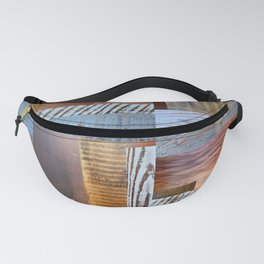 Reclaimed Wood Collage 4.0 Fanny Pack