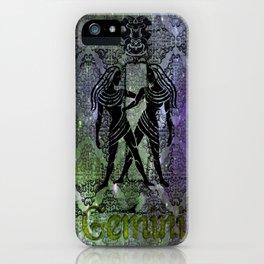 Gemini Astrology iPhone Case