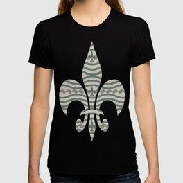Corduroy Pattern Lines T-shirt