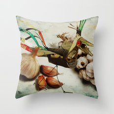 What nature delivers....those are not my eggs!!! Throw Pillow