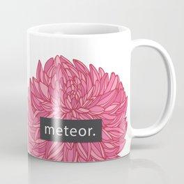 Meteor Power Dahlia Pink Coffee Mug