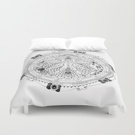 Alchemical Man Duvet Cover
