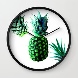 Malibu Pineapple | Anana Exotic Wall Clock