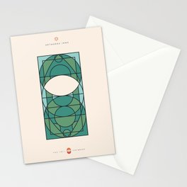 THE VEIL AND THE BEARD - Orthodox Jews - Woman Stationery Cards