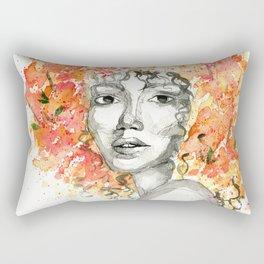 Flower Fro Rectangular Pillow