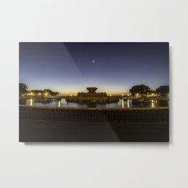 Chicago's Buckingham Fountain at dawn Metal Print