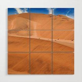 The Namib Desert, Namibia Wood Wall Art
