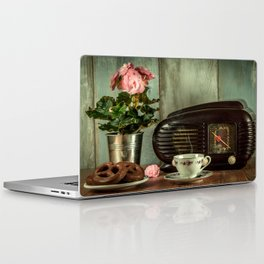 vintage coffee Laptop & iPad Skin