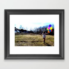 Fly Away With Me. Framed Art Print