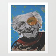 grandmother Art Print