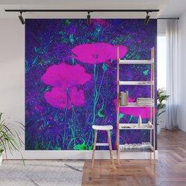 Summer Texture (Purple) Wall Mural