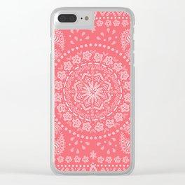 Zendana Melon Bandana Clear iPhone Case