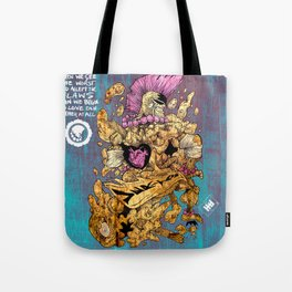Flaws and All  Tote Bag