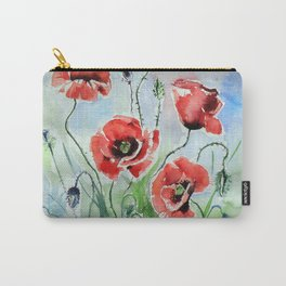 Five poppies II big Carry-All Pouch