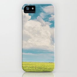 Gallatin County Storm Clouds iPhone Case