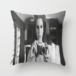 Lana Del Re-y Music Poster Canvas Wall Art Home Decor Throw Pillow