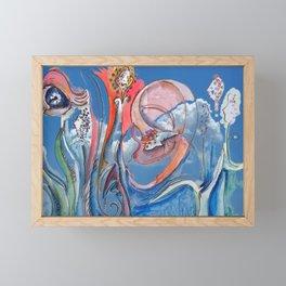 Jester B's Grass Nutrition Framed Mini Art Print