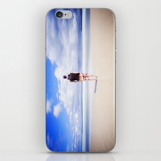 On the Beach iPhone & iPod Skin