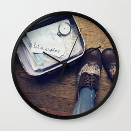 Let's Explore! Wall Clock