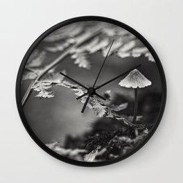 everybody loves a fungi Wall Clock