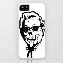 Skull Sanders No. 3 iPhone Case