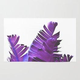 Banana Leaves (Purple) Rug