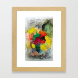 Mixed Colors Framed Art Print
